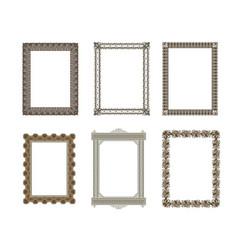 Decorative frame elegant element for design vector