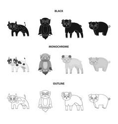 Forest ecology toys and other web icon in black vector