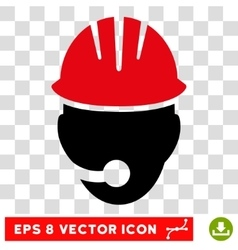 Industrial Operator Eps Icon vector