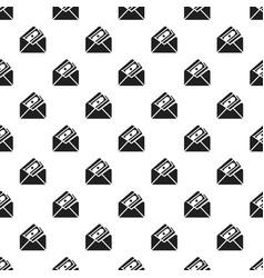money envelope pattern seamless vector image