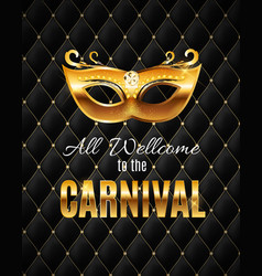 popular event brazil carnival in south america vector image