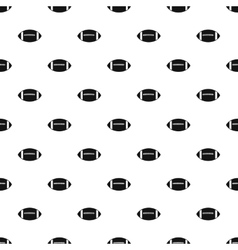 Rugby ball pattern simple style vector