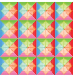 Squares pattern colorful background vector