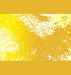 yellow grunge texture vector image
