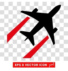 Air Jet Trace Eps Icon vector image