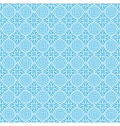 blue tiled seamless geometric web pattern vector image
