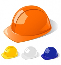 Construction workers hard hat vector