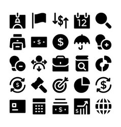 Finance and money icons 2 vector