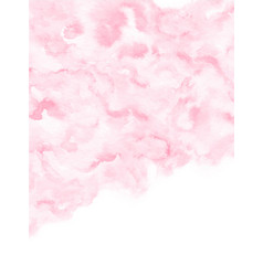 painted watercolor texture background vector image