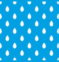 pumpkin seed pattern seamless blue vector image