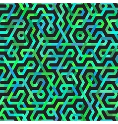 Seamless Multicolor Irregular Lines Pattern vector