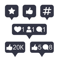 instagram comment vector images over 2 200 vectorstock