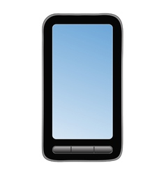 abstract mobile phone vector image