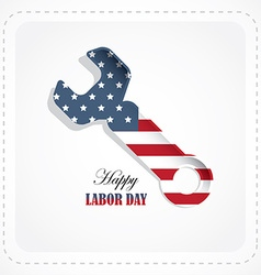 labor day american holiday vector image
