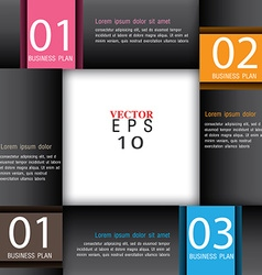 Modern Design template education template vector image vector image