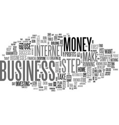 A defrazzled home business text word cloud concept vector