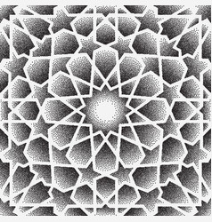 dot patternislamic ornament persian vector image