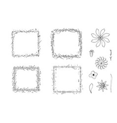 flowers composition vector image