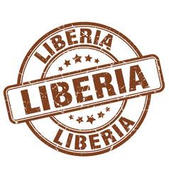 Liberia stamp vector