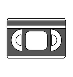 movie tape design vector image
