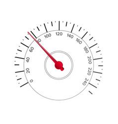 Speedometer automobile background vector