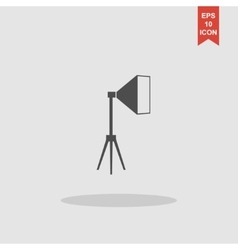 studio light icon vector image