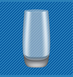 Highball glass concept background realistic style vector