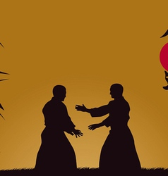 Aikido vector image