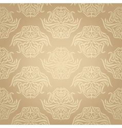 seamless retro background vector image vector image