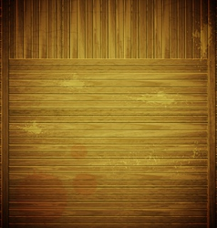 wooden Grungy Background vector image vector image