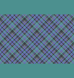 Blue colors check plaid seamless pattern vector