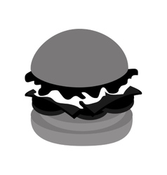 Delicious fast food restaurant and gastronomy vector