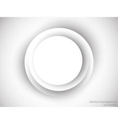 Gray circle vector image
