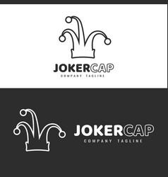 Joker hat vector