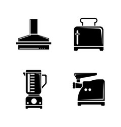 kitchen tools kitchenware simple related vector image