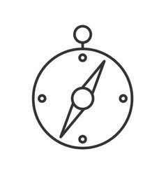 line black icon vector image
