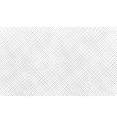 monochrome horizontal pattern with cross lines vector image
