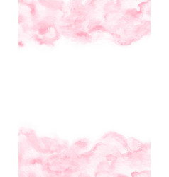 pale pink watercolor texture background vector image