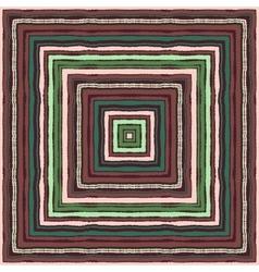 Seamless strip ethnic ornamental pattern vector image