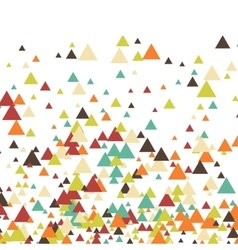 Triangle abstract halftone colour vector