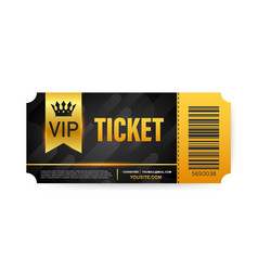 Vip club cards members only gold ribbon label vector