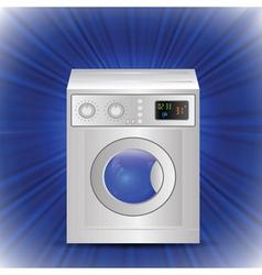 Washing mashine vector