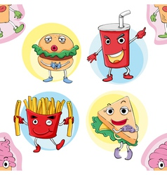 various food vector image