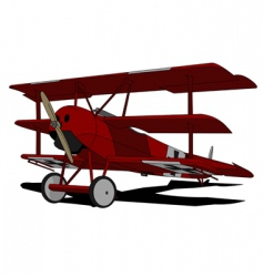 red baron vector image vector image