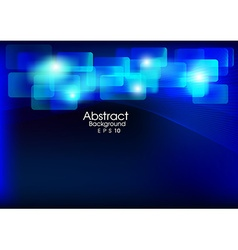 abstract background blue technology vector image
