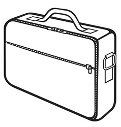 Bag for laptop vector