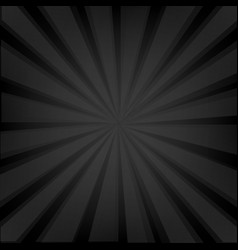 black background texture with sunburst vector image