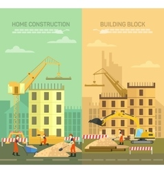 Constructing building vector