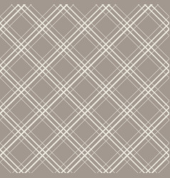 Diagonal checks seamless pattern vector