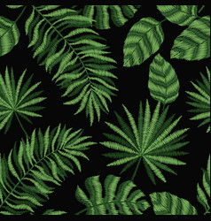 Embroidery seamless pattern texture wallpaper vector